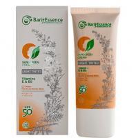 کرم ضد آفتاب SPF50 پوست نرمال تا خشک باریج اسانس (رنگ روشن)