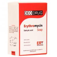 صابون اریترومایسین ضد آکنه دئودراگ