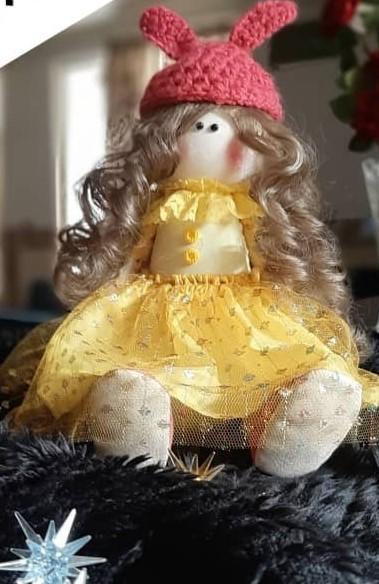 عروسک دختر روسی کد 1