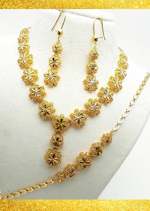 سرویس زنانه خورشید طرح طلا
