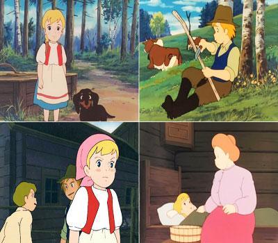 کارتون کامل حنا دختری در مزرعه با کیفیت عالی