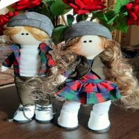 ست عروسک ناز روسی کد1