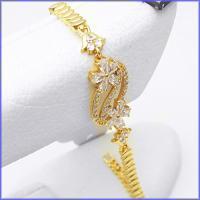 دستبند زنانه برند cm طرح جواهر کد 1