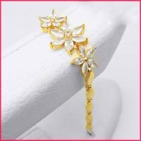 دستبند زنانه cm طرح جواهر کد 2