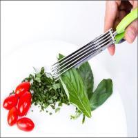 توضيحات فروش قیچی سبزی خردکن 5 سر(10 تیغ)