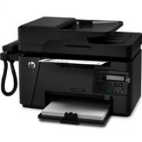HP LaserJet Pro MFP M127fs Multifunction Laserjet Printer + Handset
