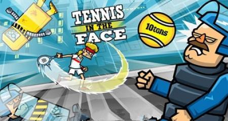 بازی جذاب Tennis In The Face برای کامپیوتر