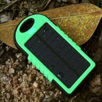 شارژر خورشیدی و پاوربانک - ضد آب و ضربه - باطری 10000