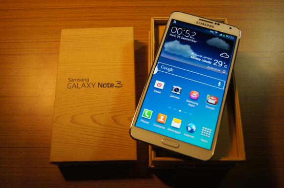 طرح اصلی Samsung Galaxy Note 3 اندروید (3g)