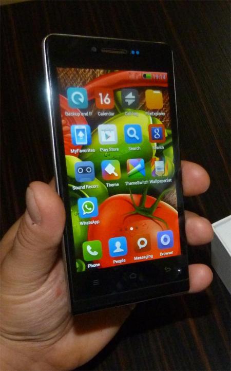گوشی موبایل Attila P6 با اندروید 4.3