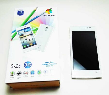 گوشی موبایل S-COLOR S-Z3 با ساپورت 3G