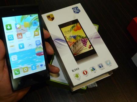 گوشی موبایل TXL K505 با اندروید 4.4.4