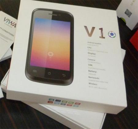گوشی موبایل Viwa V1 با اندروید 4.2