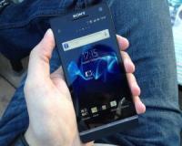 طرح اصلی Sony Xperia S اندروید 4