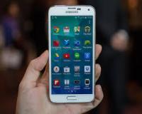 طرح اصلی Samsung galaxy S5 اندروید 4