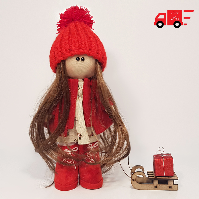 تیلدا دختر کریسمسی طرح گوزن