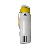 قمقمه پلاستیکی بزرگ آدیداس (سفید زرد)