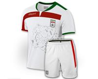 پیراهن شورت تیم ملی ایران طرح جام جهانی 2014