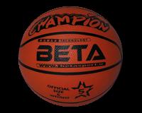توپ بسکتبال سایز 5 طرح چامپیون بتا