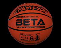 توپ بسکتبال سایز 6 طرح چامپیون بتا