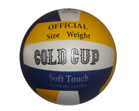 توپ والیبال چرمی بتا طرح کلدکاپ