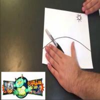 شعبده بازی حرفه ای با نقاشی