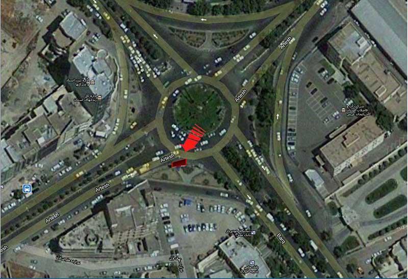 بیلبورد ارومیه - میدان مخابرات