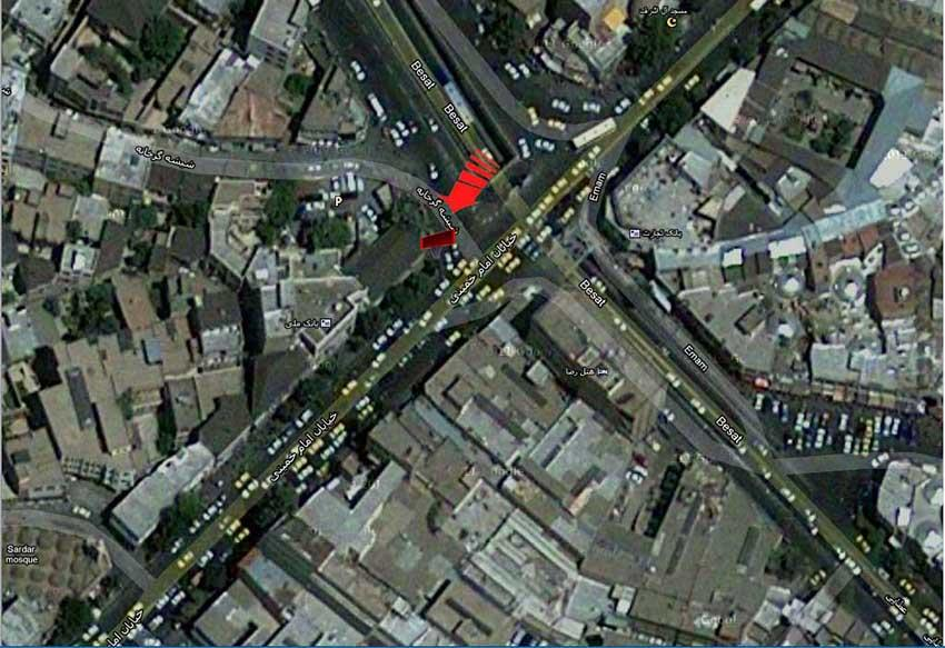تابلو بیلبورد ارومیه اول بازار (نبش بلوار عطایی و خیابان امام (ره )