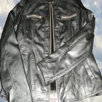 خرید کاپشن چرم زنانه ترک اسپورت فقط 280/000 تومان !! ( سایز 44 ) برند hilal moda