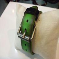 خرید اینترنتی دستبند چرم طبیعی گاوی مردانه و زنانه