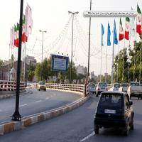 بیلبورد ارومیه - شهرچایی تقاطع غیر همسطح ( دید از شیخ تپه )