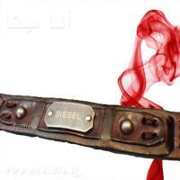 خرید اینترنتی دستبند چرمی دیزل
