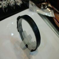 خرید پستی دستبند چرم مصنوعی مردانه