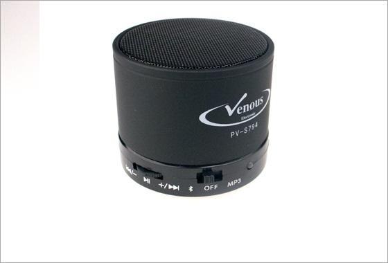اسپیکر شارژی بلوتوثی ونوس Venous PV-S794 Mini Bluetooth Speaker