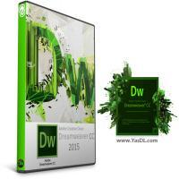 نرم افزار طراحی وب دریم ویور Adobe Dreamweaver CC 2015