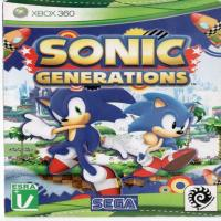بازی SONIC GENERATIONS XBOX 360