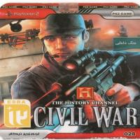 بازی THE HISTORY CHANNEL CIVIL WAR (PS2) جنگ داخلی
