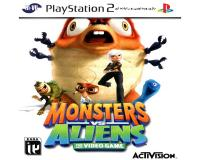 بازی MONSTERS VS ALIENS PS2