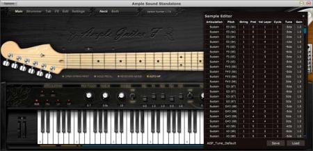 خرید اینترنتی وی اس تی گیتار فندر استراتوکاستر Ample Sound AGF 2