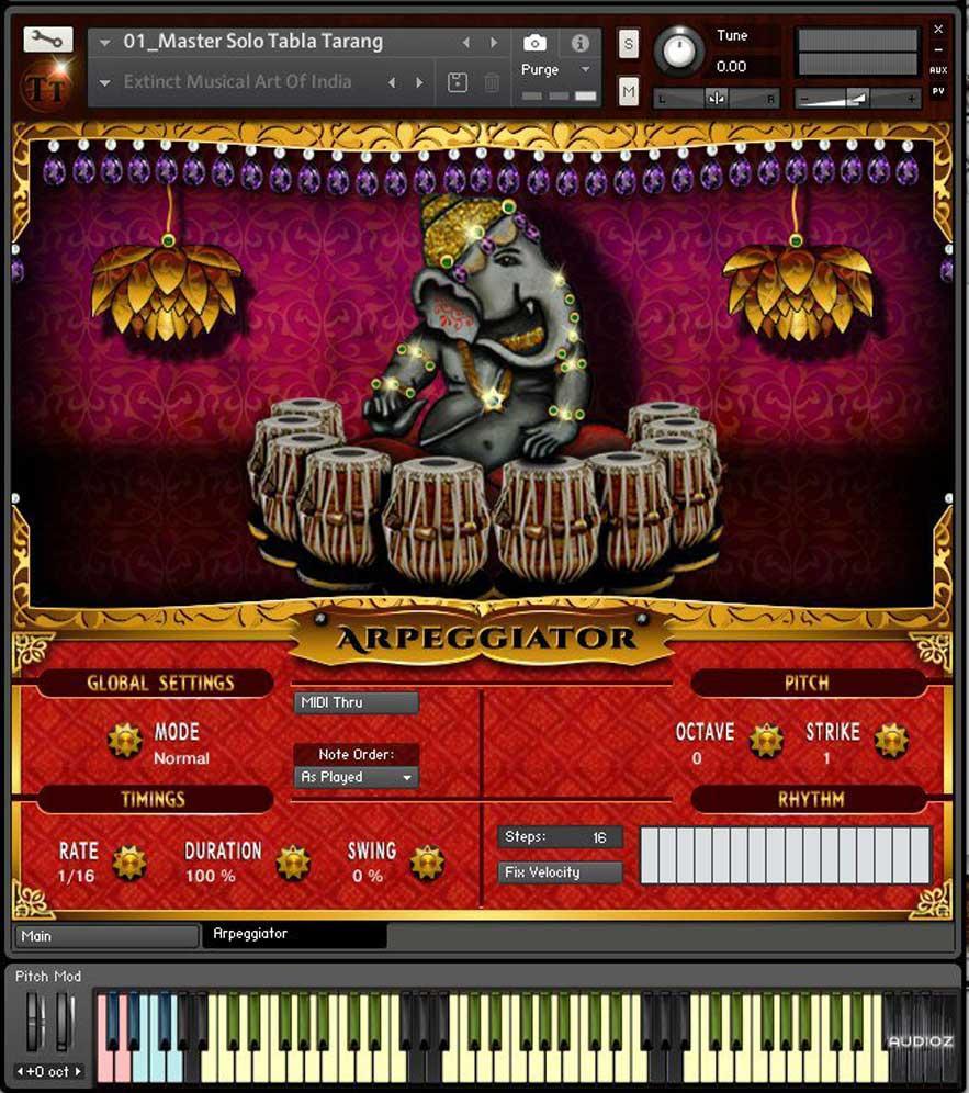 خرید اینترنتی وی اس تی پرکاشن هندی طبلا Crypto Cipher Tabla Tarang