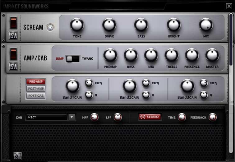 خرید اینترنتی وی اس تی گیتار الکتریک متال Impact Soundworks Shreddage 2 IBZ
