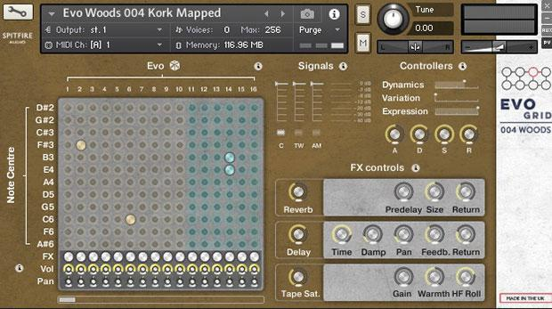 خرید اینترنتی وی اس تی Spitfire Audio PP025 Evo Grid 4