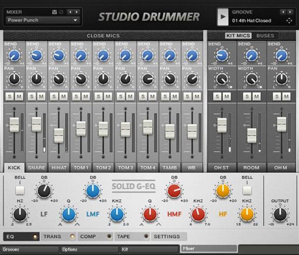 خرید اینترنتی وی اس تی استودیو درامر با آخرین آپدیت و ویدئو آموزشی Native Instruments Studio Drummer