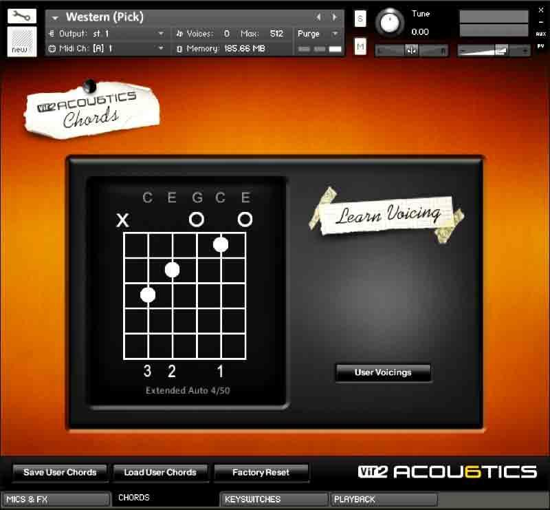 خرید اینترنتی وی اس تی گیتار آکوستیک Vir2 Instruments Acou6tics
