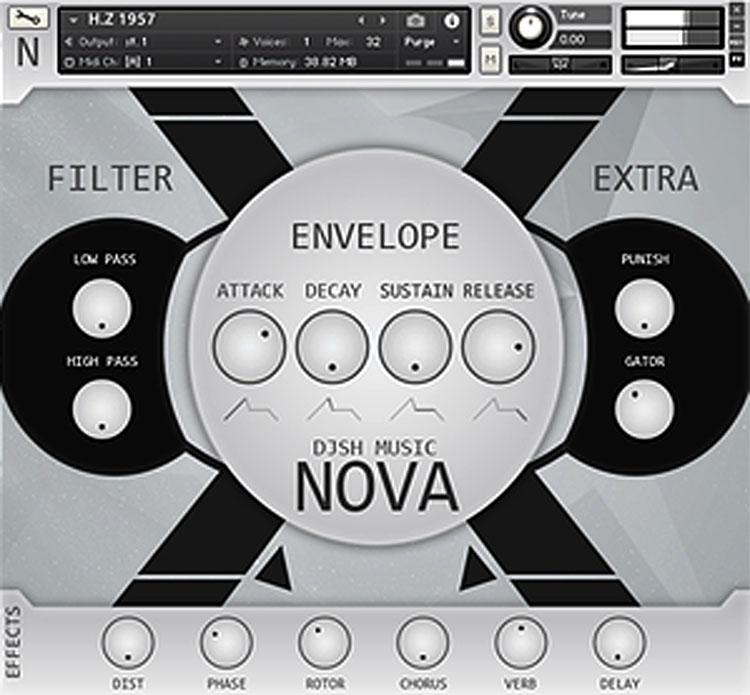 خرید اینترنتی وی اس تی پد و اتمسفر Djsh Music Nova