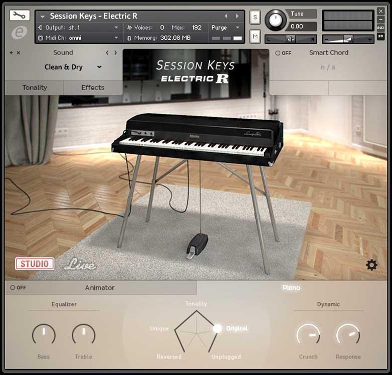خرید اینترنتی وی اس تی پیانو الکتریک E-Instruments Session Keys Electric R