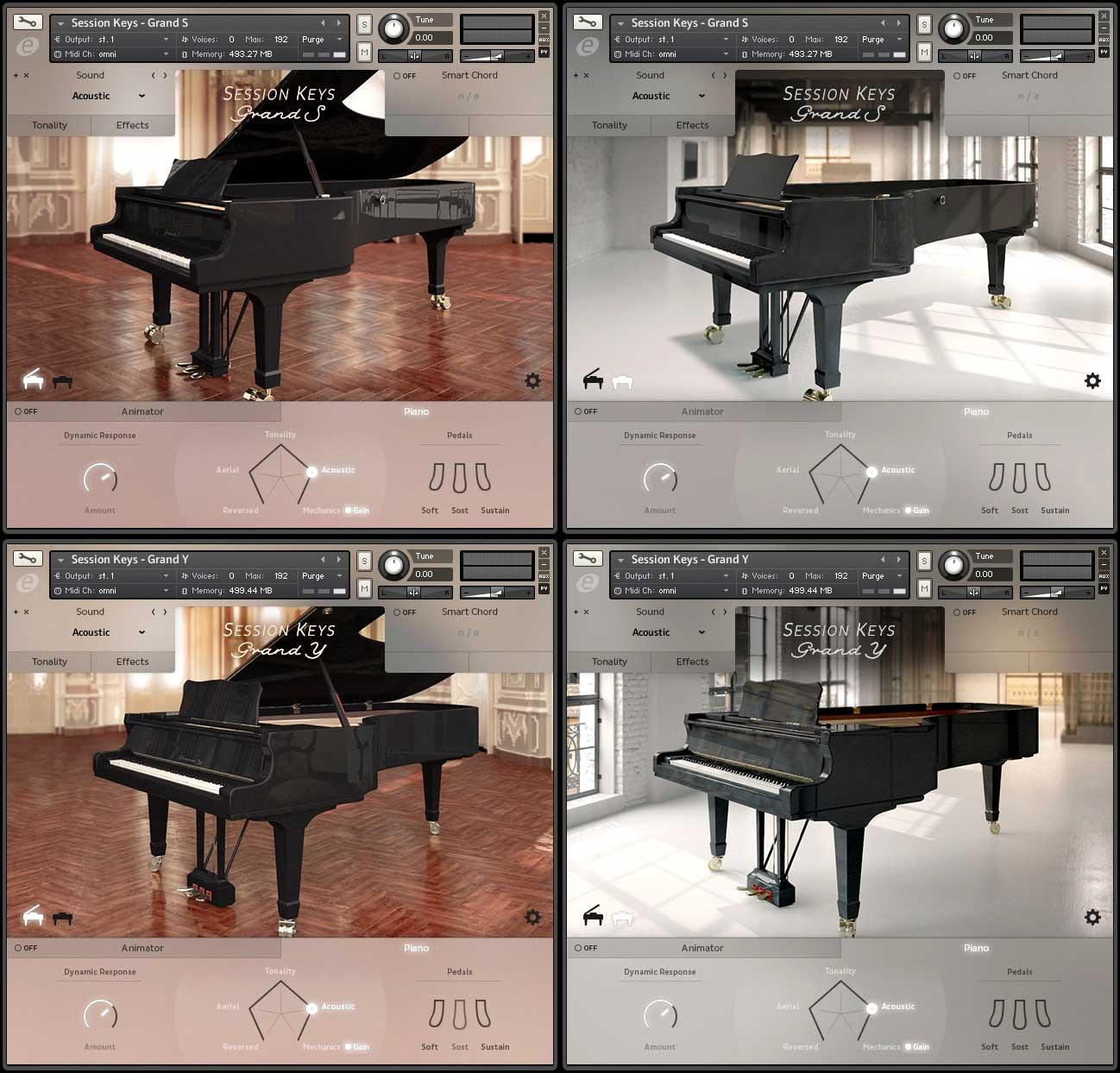 خرید اینترنتی وی اس تی کنسرت گرند پیانو یاماها E-Instruments Session Keys Grand Y