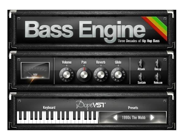 خرید اینترنتی وی اس تی گیتار بیس مخصوص سبک رپ DopeVST Bass Engine