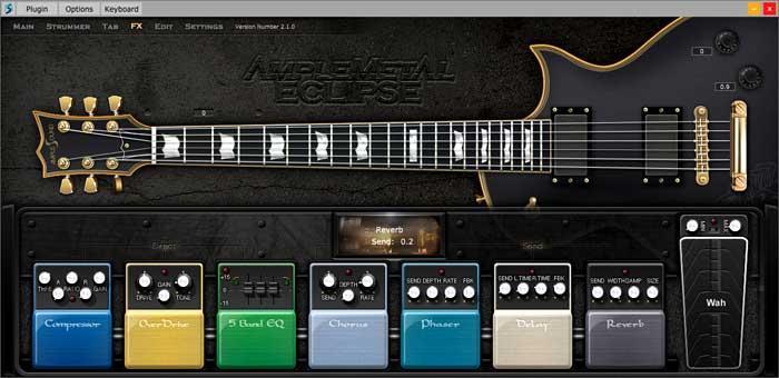 خرید اینترنتی وی اس تی گیتار متال ایی اس پی اکلیپس Ample Sound AME2