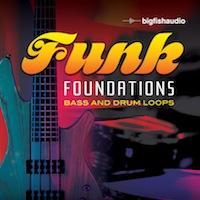 لوپ درام  آکوستیک و گیتار باس Big Fish Audio Funk Foundations